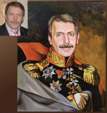 Настоящий портрет маслом на заказ в Алма-Аты…