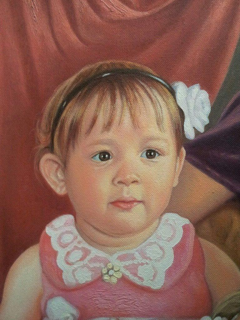 Портрет маслом семейный Киев