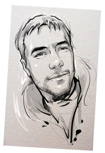 Портрет карандашом любимому мужу в Алма-Аты…
