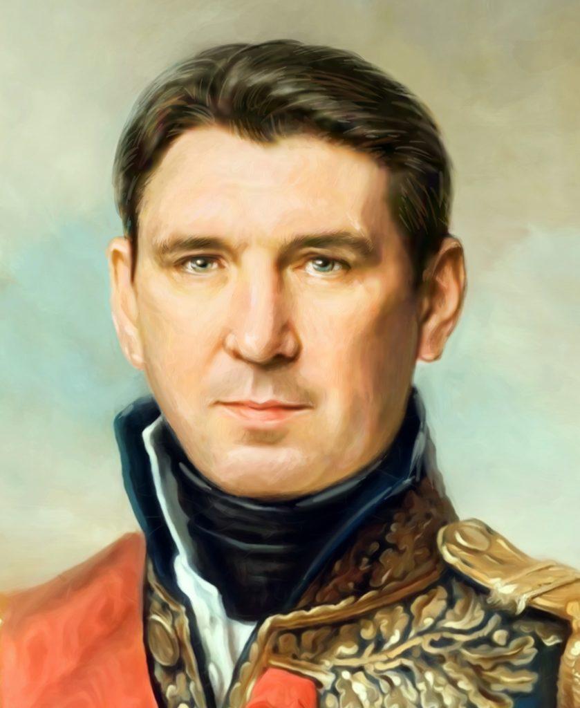 портрет по фото на холсте в подарок Тбилиси