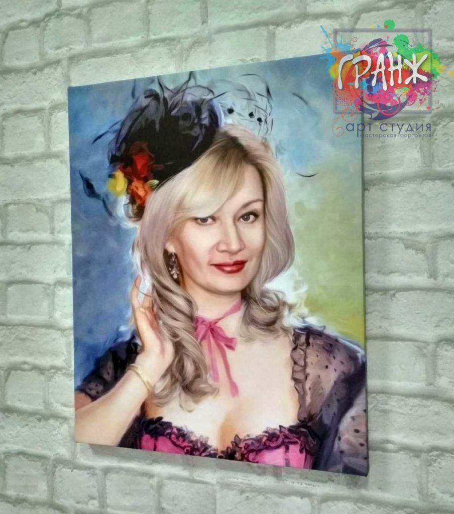 портреты на заказ по фото москва