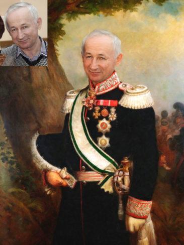 Где заказать исторический портрет по фото на холсте в Алматы?